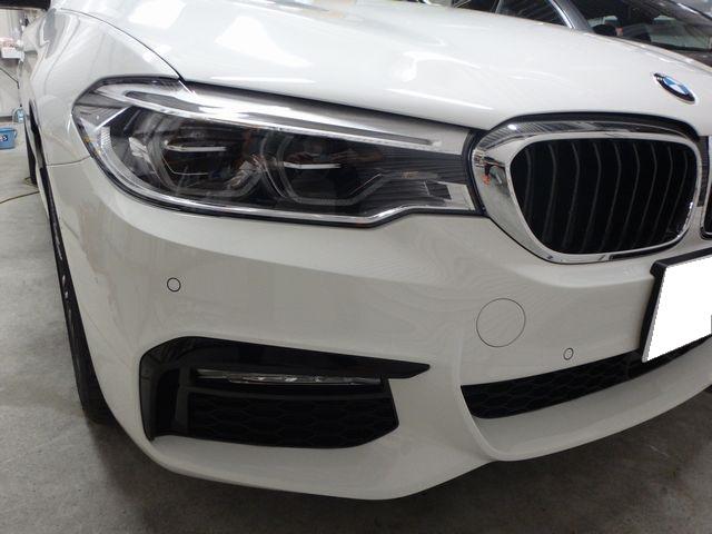 BMW5シリーズツーリング② 綺麗に維持出来るようにコーティングをする