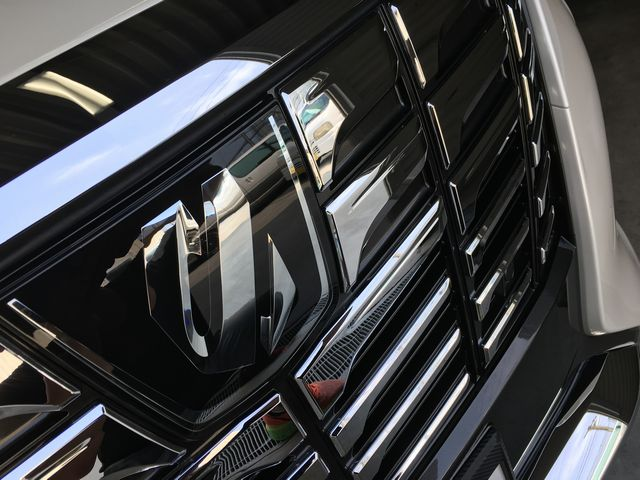 トヨタ アルファード 手洗い洗車&メッキクリーニング